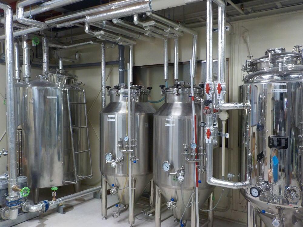 地ビール生産設備工事